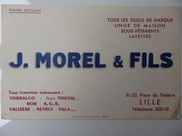 J-MOREL &FILS Place Du Théatre A LILLE - Textile & Clothing