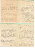 LOT DE LETTRE D'UN SERGENT A SA FAMILLE DE 1914 A 1917 TRESOR ET POSTES * 50 LETTRES  * - Documents