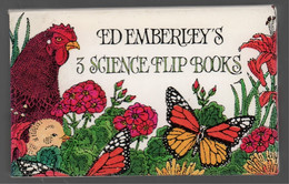 Flip Book Mini Movie Liitle, Brown & C° (1982) Ed Emberley's 3 Science Flip Books 6 Nature Adventures - Other Publishers