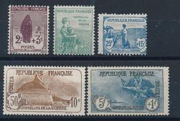 DZ-171: FRANCE: Lot Avec Neufs Sans Gomme N°148-149-151 (dents Faibles En Haut)-230-232 - Ungebraucht