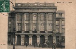 Arras - Le Théâtre, Calèche Et Animation - Edition B.D. Roubaix - Carte N° 80 - Arras