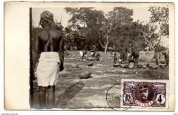 GUINEE FRANCAISE ( Afrique ) -    Femmes Avec Recipents D'eau . A Identifier - French Guinea