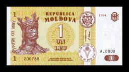 Moldavia Moldova 1 Leu 1994 Pick 8a SC UNC - Moldova