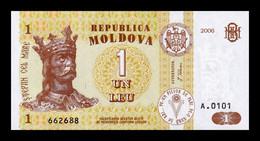 Moldavia Moldova 1 Leu 2006 Pick 8g SC UNC - Moldova