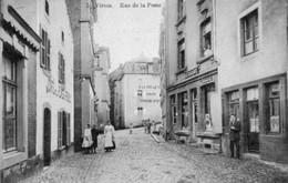 VIRTON  Rue De La Poste Bien Animée Magasins Gerbaux Mode Voyagé En 1912 - Virton