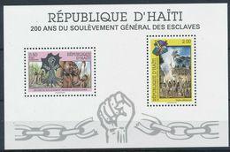 HAITI 1991 UPRISING OF SLAVES - Haiti