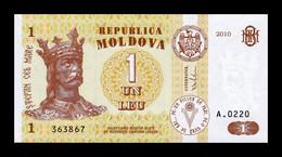 Moldavia Moldova 1 Leu 2010 Pick 8h With Security Thread SC UNC - Moldova