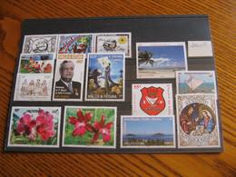 WALLIS ANNEE COMPLETE 2015 NEUVE ** LUXE FACIALE 26,15 EUROS - Unused Stamps