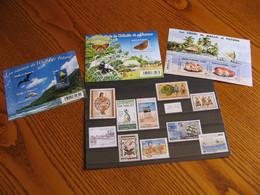 WALLIS ANNEE COMPLETE 2016 NEUVE ** LUXE FACIALE 30,17 EUROS - Unused Stamps