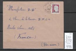 Reunion - Lettre RAVINE DES CABRIS - 1961 - Storia Postale
