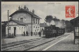 CPA 27 - Vascoeuil, La Gare - Train - Autres Communes