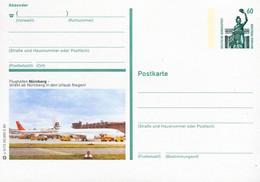 85054) BRD - ▭ P 139 U5/72 ✶ - 904xx Nürnberg, Flughafen, Flugzeuge - Illustrated Postcards - Mint