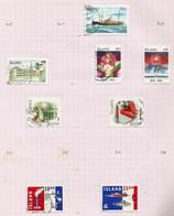 Islande N°708, 710 à 714, 719, 720 Cote 8 Euros - Gebraucht
