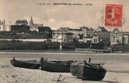 Ambleteuse (Pas-de-Calais) La Baie, Barques De Pêche Sur La Plage - Carte L.D.B. N° 423 - Otros Municipios
