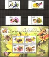 {BUR015} Burundi 2011 Honey Bees Set Of 4+ Sheet MNH** - 2010-..: Neufs