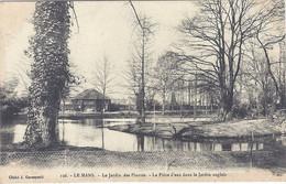 CPA- Le Mans - Le Jardin Des Plantes - La Pièce D'eau Dans Le Jardin Anglais - Le Mans