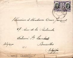 Lettre Envoyée De Lituanie (Radviliskis) Vers Bruxelles (Belgique) Le 25/10/1940 Avec Censure Allemande - Litouwen