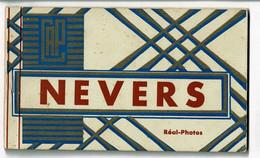 Carnet Complet, 10 Vues, Cartes Postales Format CPA - Nevers - Edition Réal-Photo - Nevers