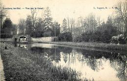 Belgique - Halle - Hal - Lembecq-lez-Hal - Vue Sur Le Canal  - Haleur - Carte Taxée - Halle