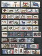 Bophuthatswana, Ciskei, Transkei, Venda Postfrisch/MNH - 4x Complete Collections - Bophuthatswana