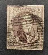 Medaillon 10 - 10c Gestempeld P20 BOUILLON - 1858-1862 Medaglioni (9/12)