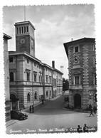 Grosseto - Piazza Monte Dei Paschi E Casa Del Popolo - Auto, Car, Voitures. - Grosseto