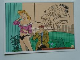 D177802  Illustr.    WALTER MINUS  Postcard -  Ergee Ed.  Cancel Kempten Allgäu - Comics