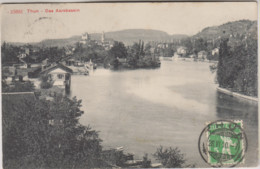 SUISSE - THUN - DAS AAREBASSIN - BE Berne