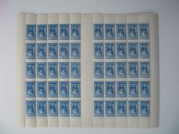 Madagascarfeuille De 50 Ex. n° 214 neuf **  Gomme Coloniale Plié En Deux  Voir Scan - Nuevos