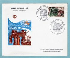 FDC France 1969 - Journée Du Timbre 1969 - YT 1589 - 13 Arles - 1960-1969