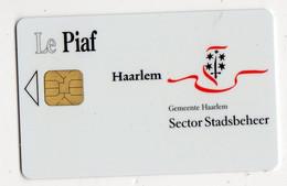 PIAF PAYS BAS HAARLEM Date 02/00 - Tarjetas De Estacionamiento (PIAF)