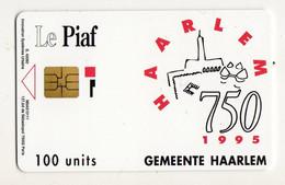 PIAF PAYS BAS HAARLEM 100U - Tarjetas De Estacionamiento (PIAF)