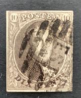 Medaillon 10 - 10c Gestempeld EST - 1858-1862 Medaillons (9/12)
