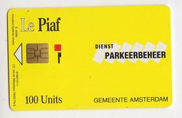PIAF PAYS BAS AMSTERDAM 100U - Tarjetas De Estacionamiento (PIAF)