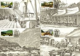 Transkei - 1986 Port St Johns Maxi Card Set # SG 180-183 , Mi 180-183 - Transkei