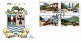 Transkei - 1986 Port St Johns FDC # SG 180-183 , Mi 180-183 - Transkei