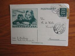 ESTONIA  1936 POSTAL STATIONERY YEAR OF THE BOOK  , 0 - Estonia