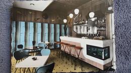CPSM HOTEL VAUBAN BRIANCON HTES ALPES 05 SON BAR 1965 2 EME CHOIX - Hotels & Restaurants