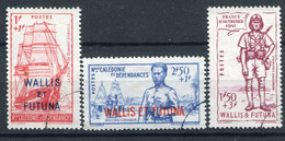 Wallis Et Futuna       87/89  Oblitérés - Used Stamps