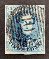 Medaillon 11 - 20c Gestempeld P103 ST. GHISLAIN - 1858-1862 Medaillons (9/12)
