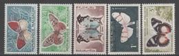Malagasy - Butterflies - #306-312 - MNH - Madagascar (1960-...)
