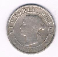 HALF PENNY 1871 (mintage 240000 Ex) JAMAICA /2975/ - Jamaica