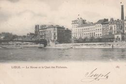 Liège. La Meuse Et Le Quai De Pêcheurs.  Scan - Liege