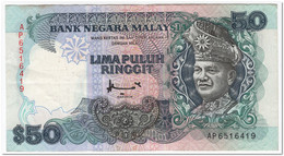 MALAYSIA,50 RINGGIT,1995,P.31c,VF - Other - Europe