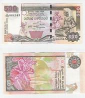 Sri Lanka  500 Rupees 2005 UNC - Unclassified