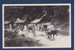 CPA JAVA Indonésie Non Circulé Dutch East Indies Inde Métier Attelage Carte Photo - Indonesia