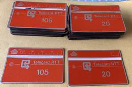 Belgie - Lot Oranje RTT Telecards ( L&G Cards ) - Verzamelingen