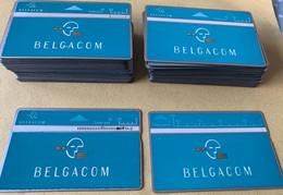 Belgie - Lot Blauwe Belgacom Telecards ( L&G Cards ) - Verzamelingen