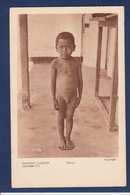 CPA Indonésie Non Circulé Dutch East Indies Inde Enfant Boy Nude Type Ethnic - Indonesia