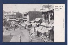 CPA Pakistan KARACHI Marché Market Bazar Circulé - Pakistan